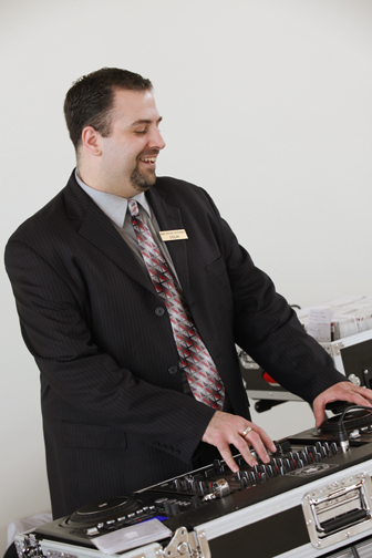 The talented DJ Colin