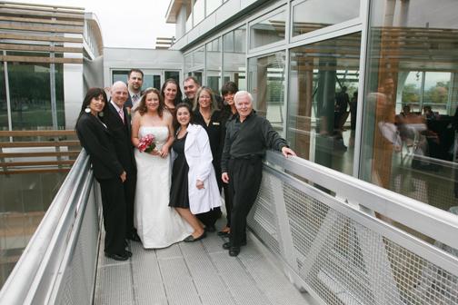 Elana, Colin, Rena, Dave, Meg, John and Myself with Coleen and Rob