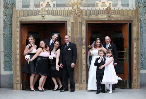 I had so much fun photographing the wedding party they had me in tears from laughing so much