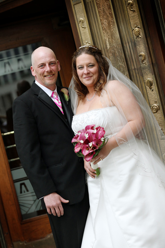The wedding of the year! Winner of the ultimate wedding contest Coleen and Rob