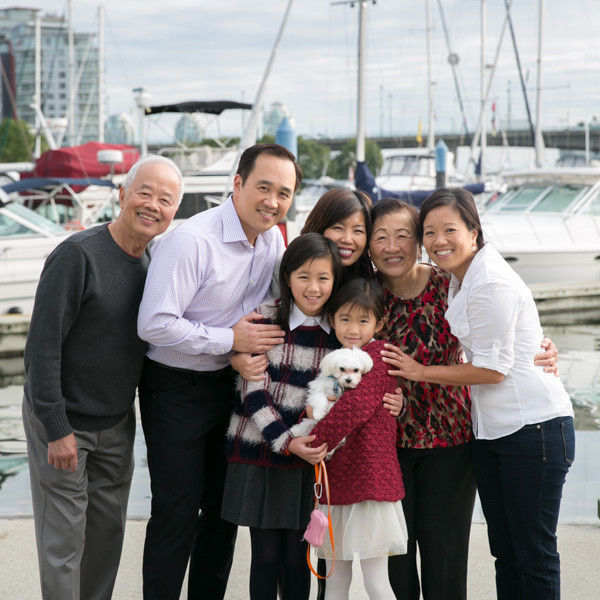 The Yu Family | Vancouver Family Portrait Photographer