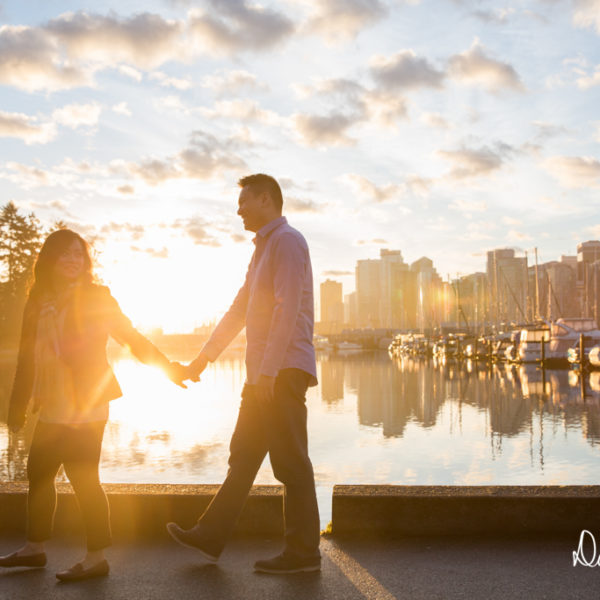 Noc & Derek | Vancouver Engagement Photographer